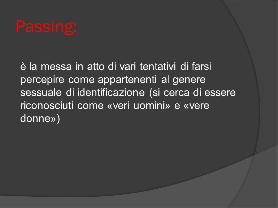 Passing: