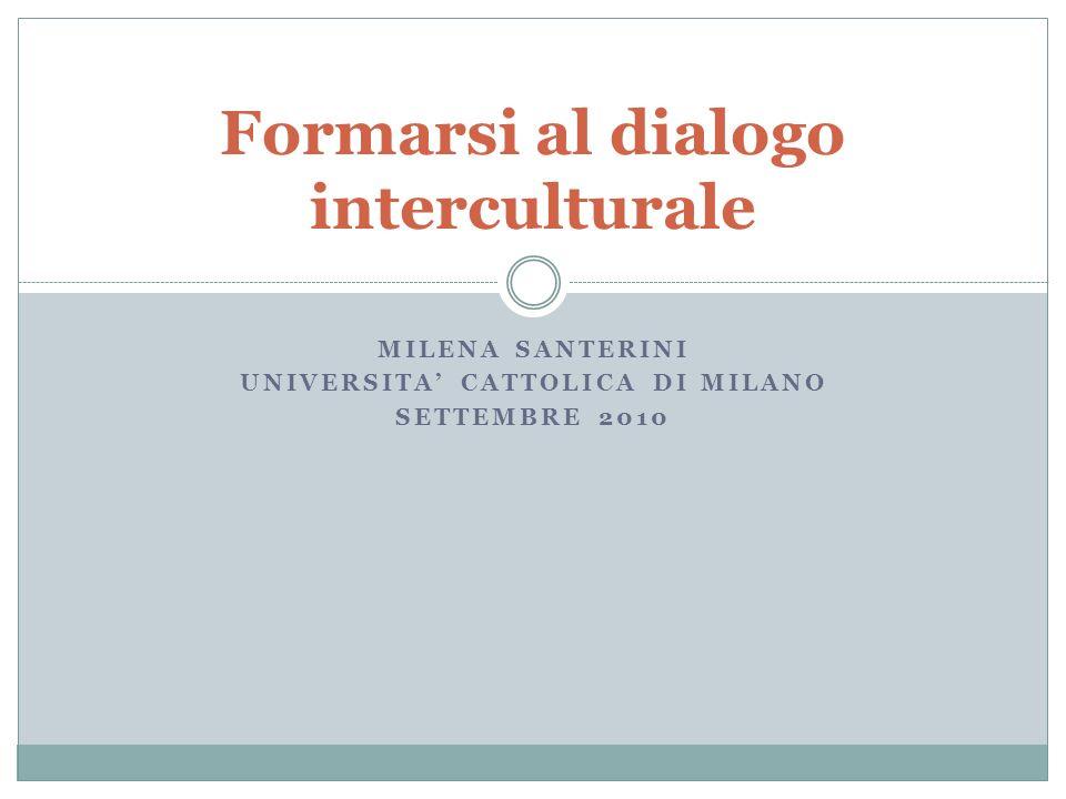 Formarsi al dialogo interculturale
