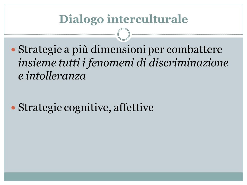 Dialogo interculturale