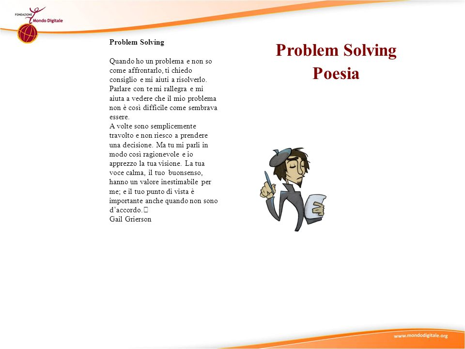 Problem Solving Poesia
