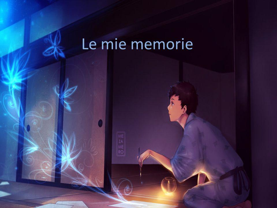 Le mie memorie