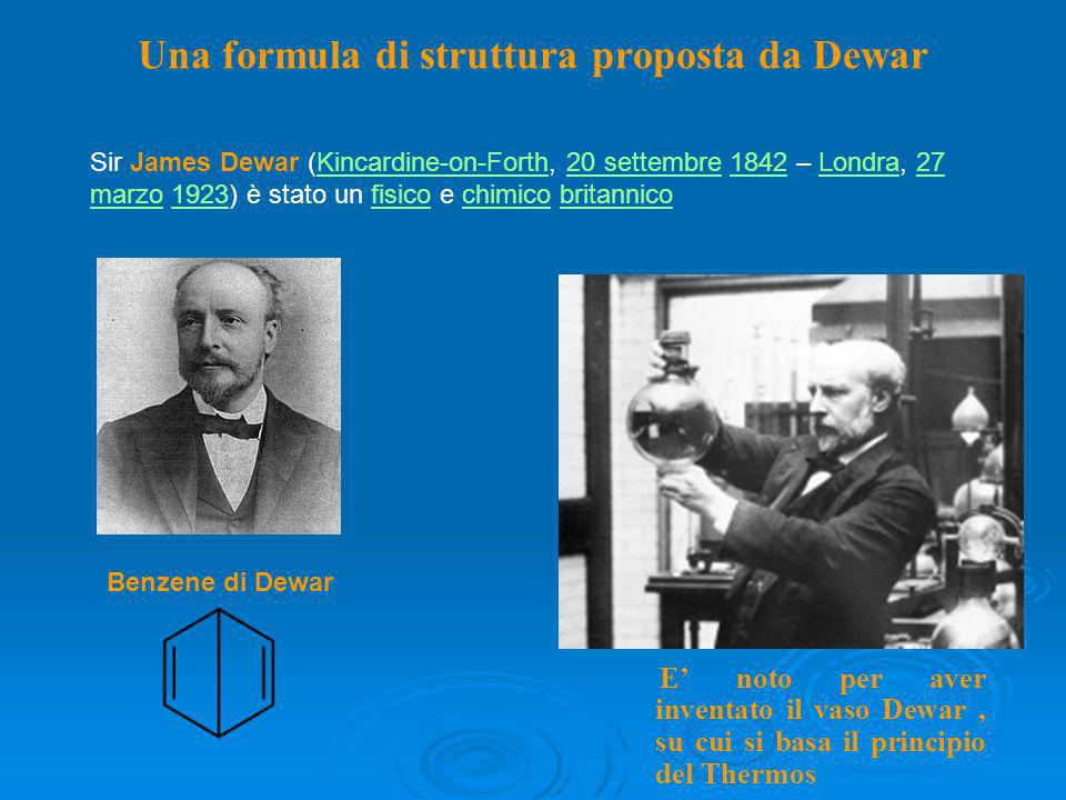 Una formula di struttura proposta da Dewar