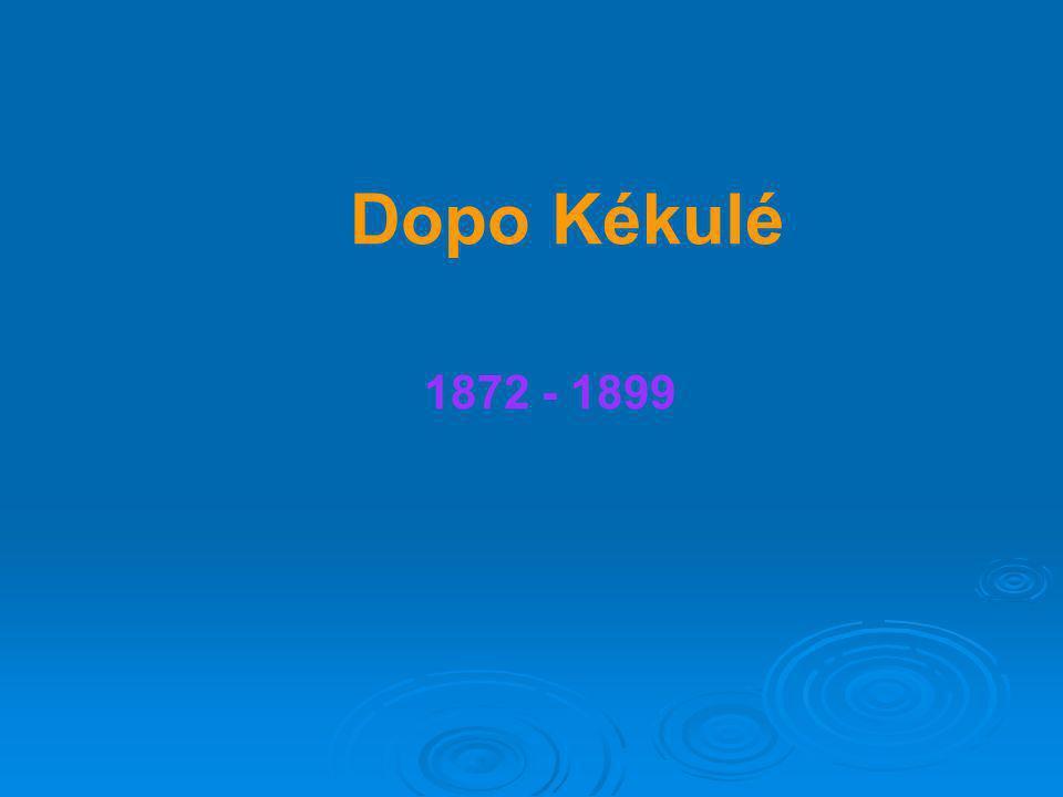Dopo Kékulé 1872 - 1899
