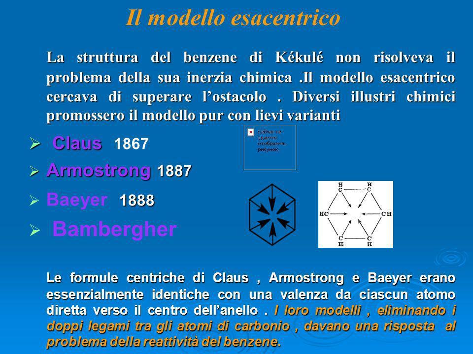 Il modello esacentrico