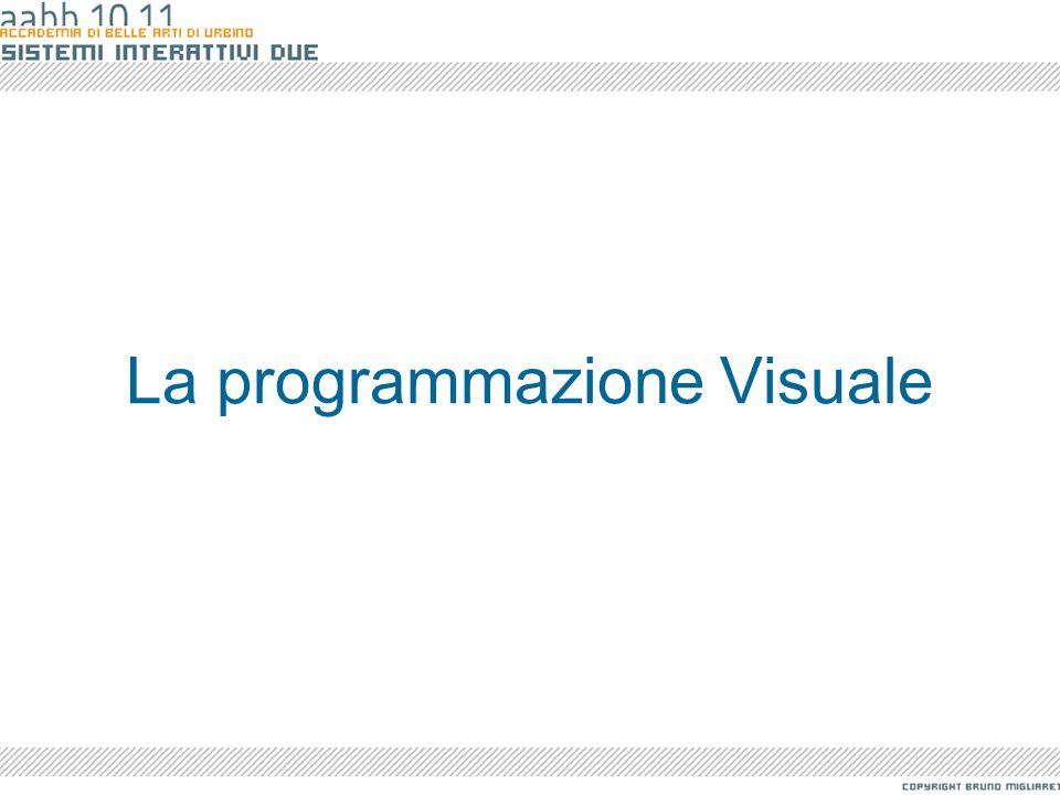 La programmazione Visuale