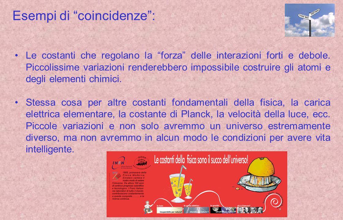 Esempi di coincidenze :