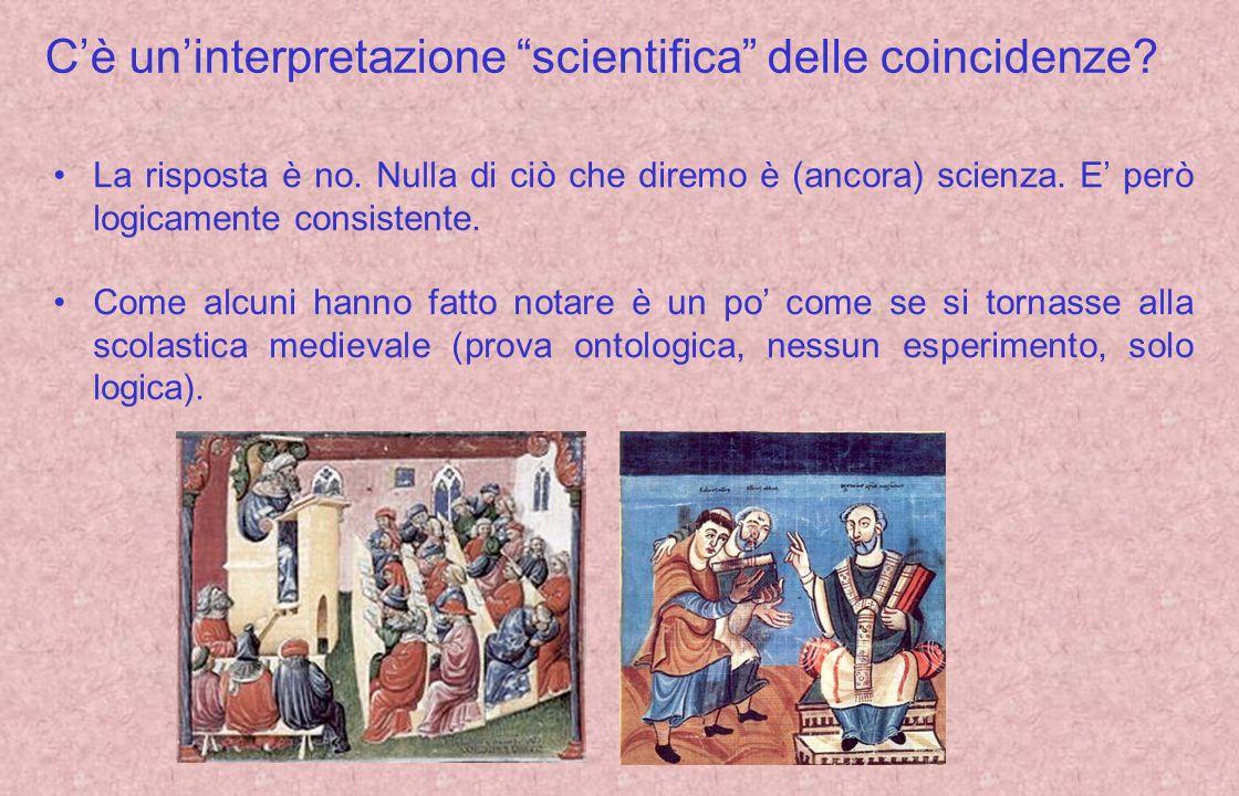 C'è un'interpretazione scientifica delle coincidenze