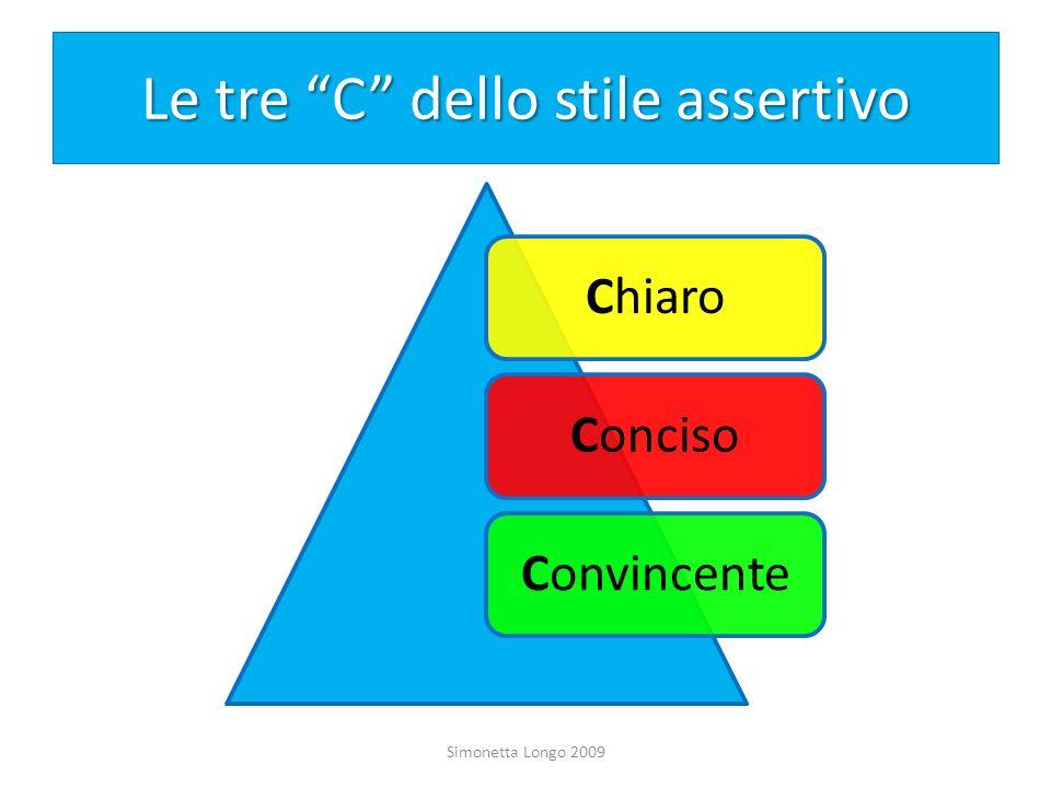 Le tre C dello stile assertivo