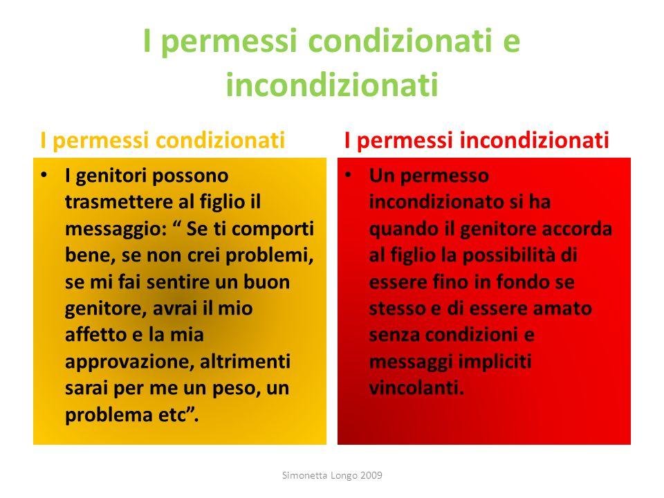 I permessi condizionati e incondizionati