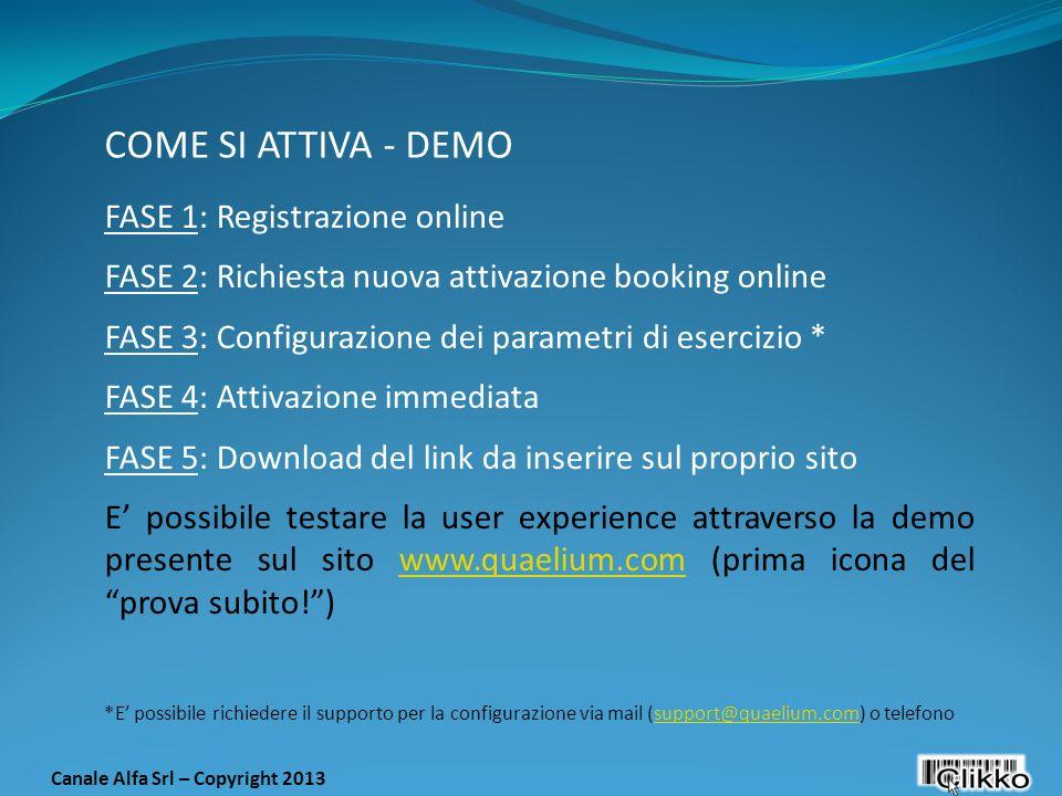 Canale Alfa Srl – Copyright 2013