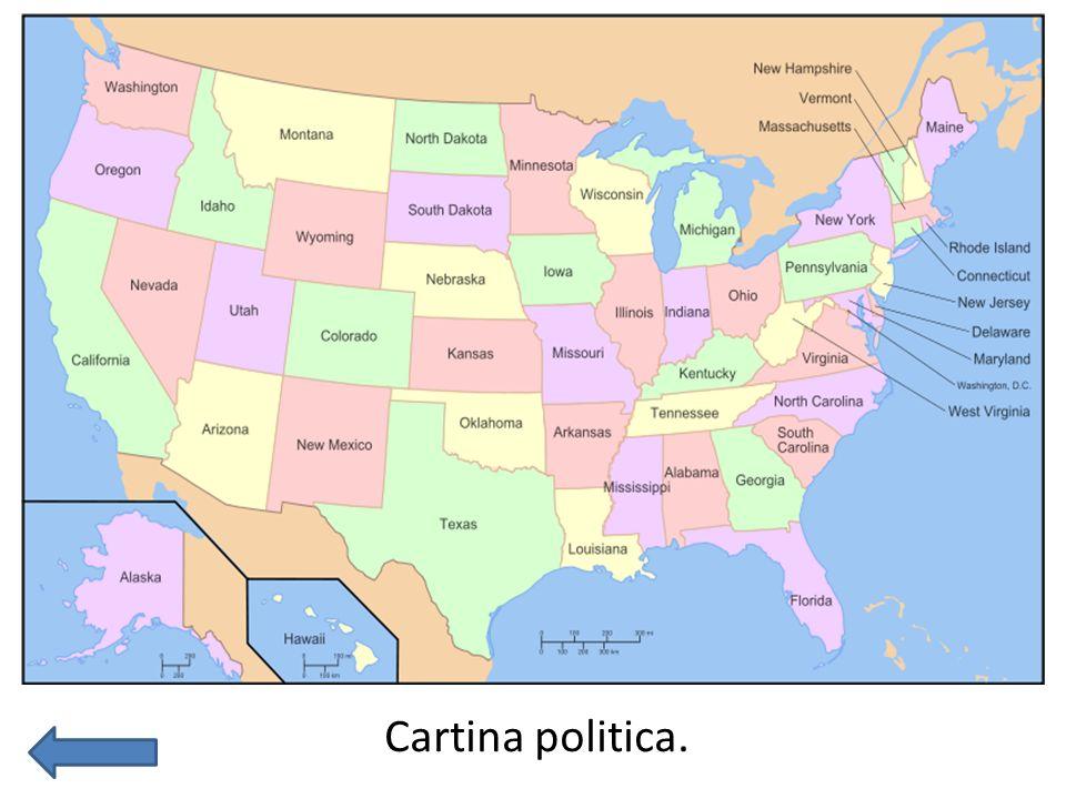 Cartina politica.