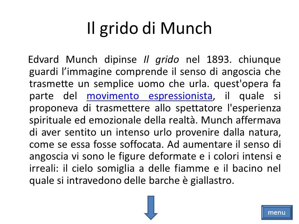 Il grido di Munch