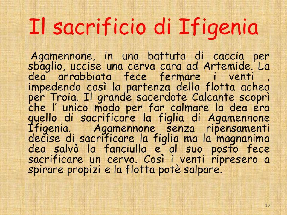 Il sacrificio di Ifigenia