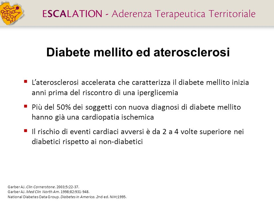 Diabete mellito ed aterosclerosi
