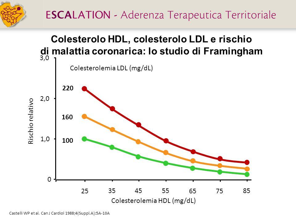 Colesterolo HDL, colesterolo LDL e rischio di malattia coronarica: lo studio di Framingham