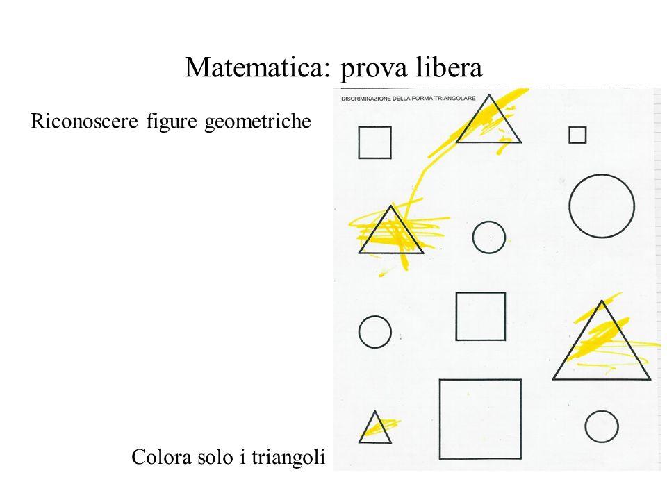Matematica: prova libera