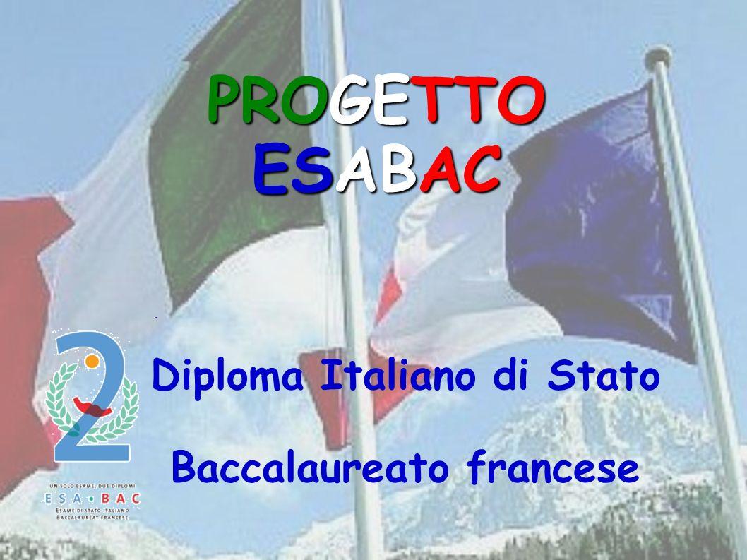 Diploma Italiano di Stato Baccalaureato francese