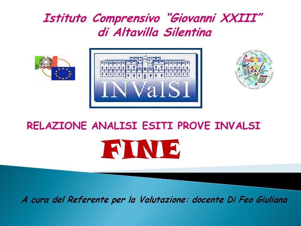 FINE Istituto Comprensivo Giovanni XXIII di Altavilla Silentina