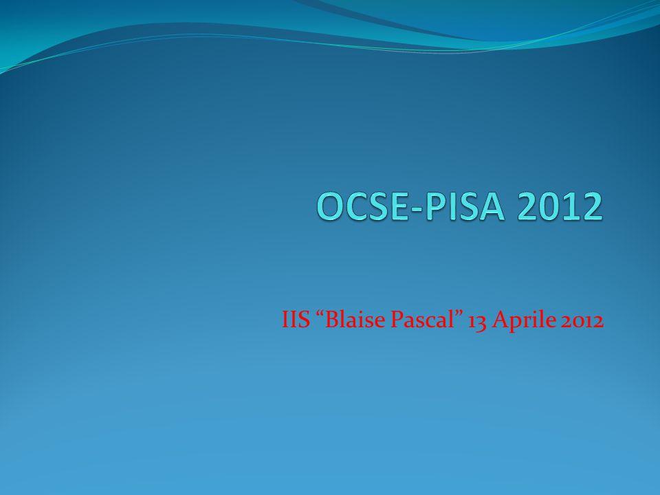 IIS Blaise Pascal 13 Aprile 2012
