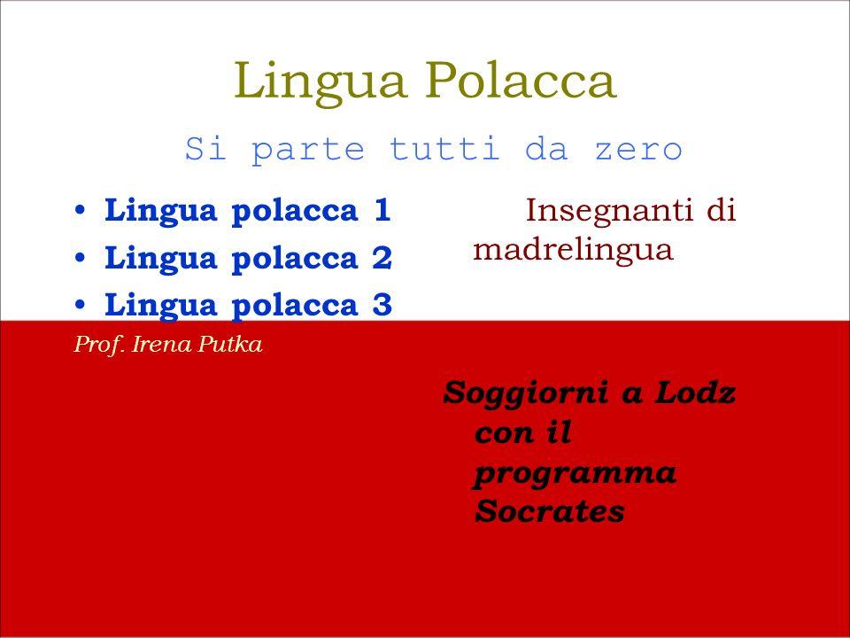 Lingua Polacca Si parte tutti da zero