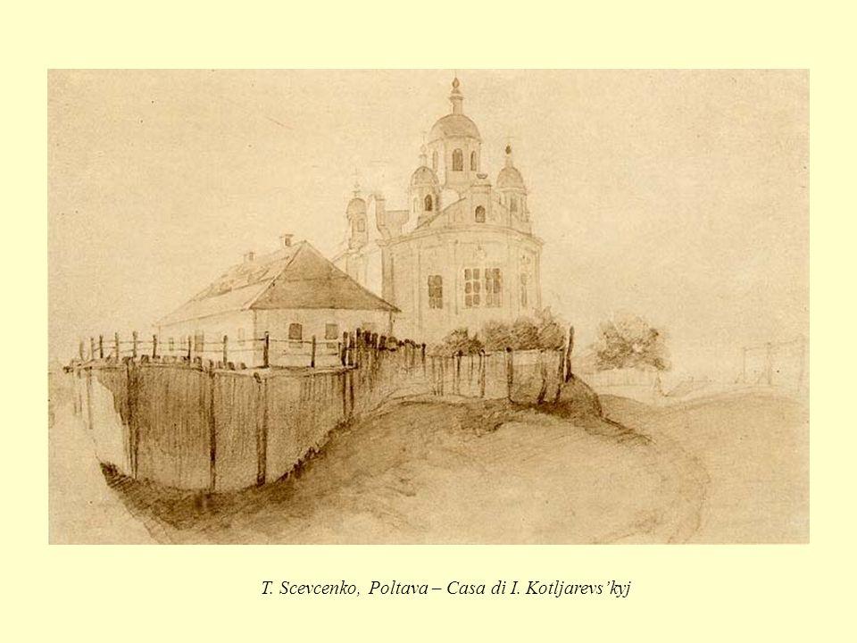 T. Scevcenko, Poltava – Casa di I. Kotljarevs'kyj