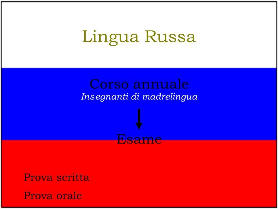 Insegnanti di madrelingua