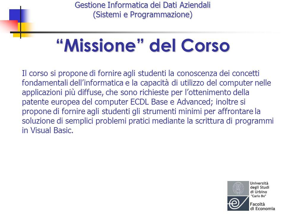 Missione del Corso