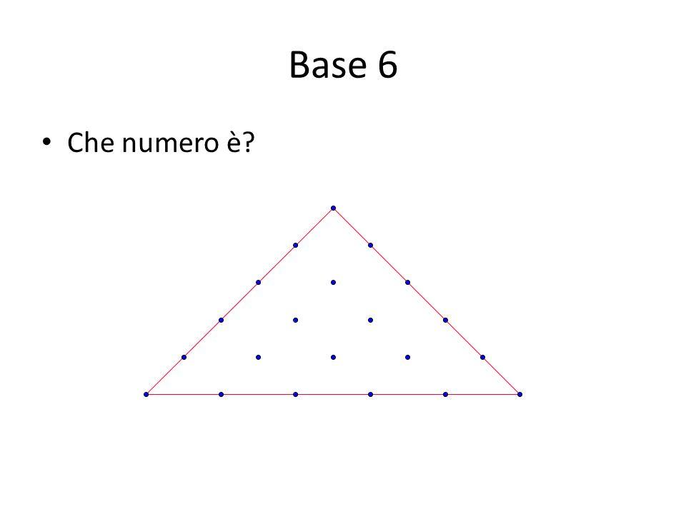 Base 6 Che numero è