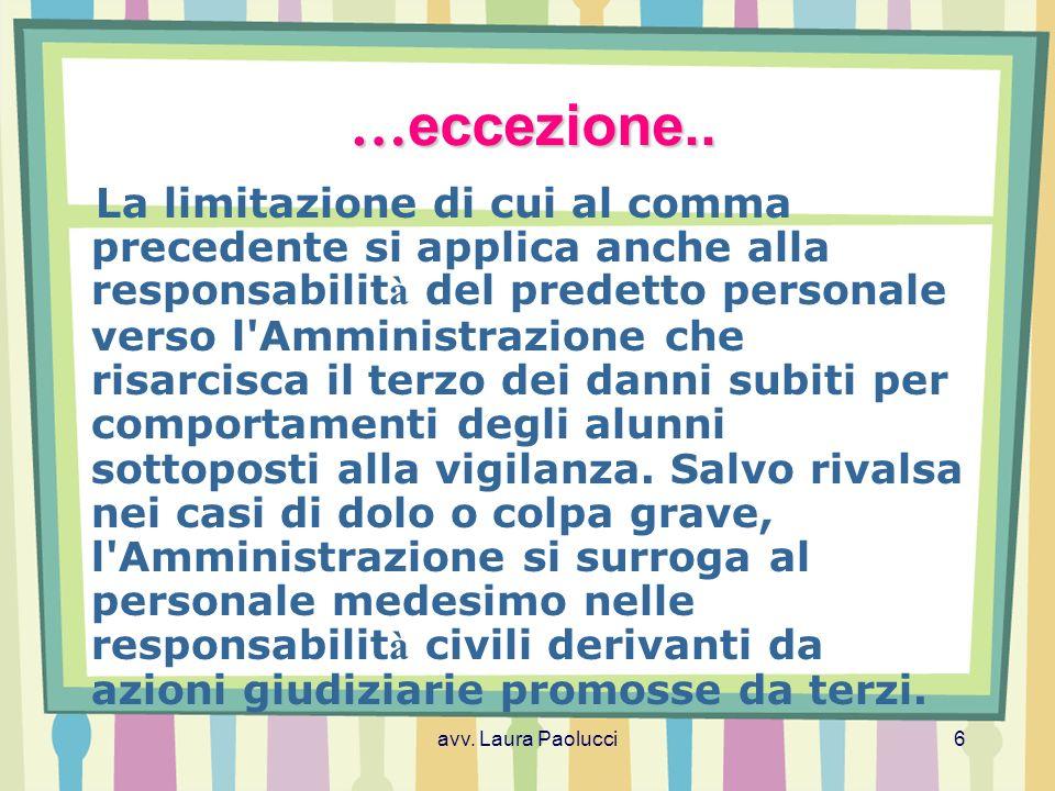 …eccezione..