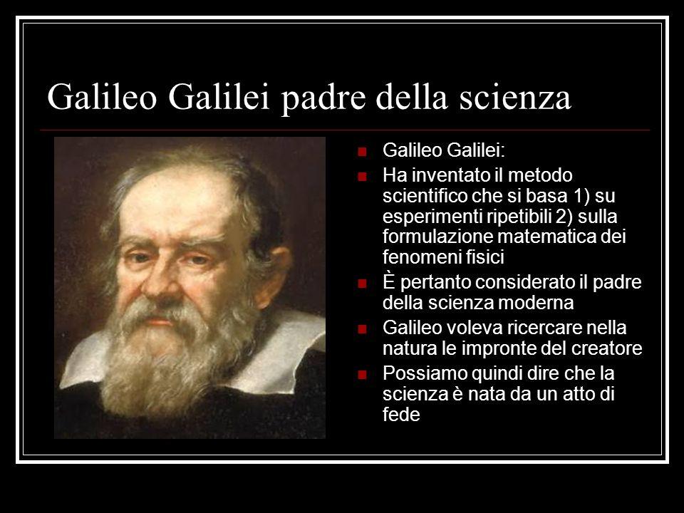 Galileo Galilei padre della scienza