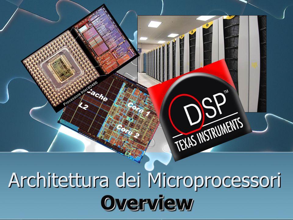 Architettura dei Microprocessori