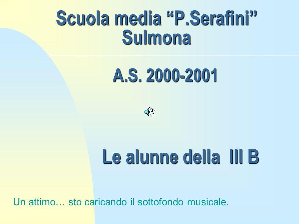 Scuola media P.Serafini Sulmona