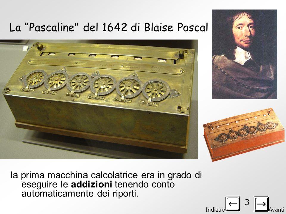 La Pascaline del 1642 di Blaise Pascal
