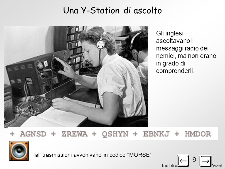 Una Y-Station di ascolto