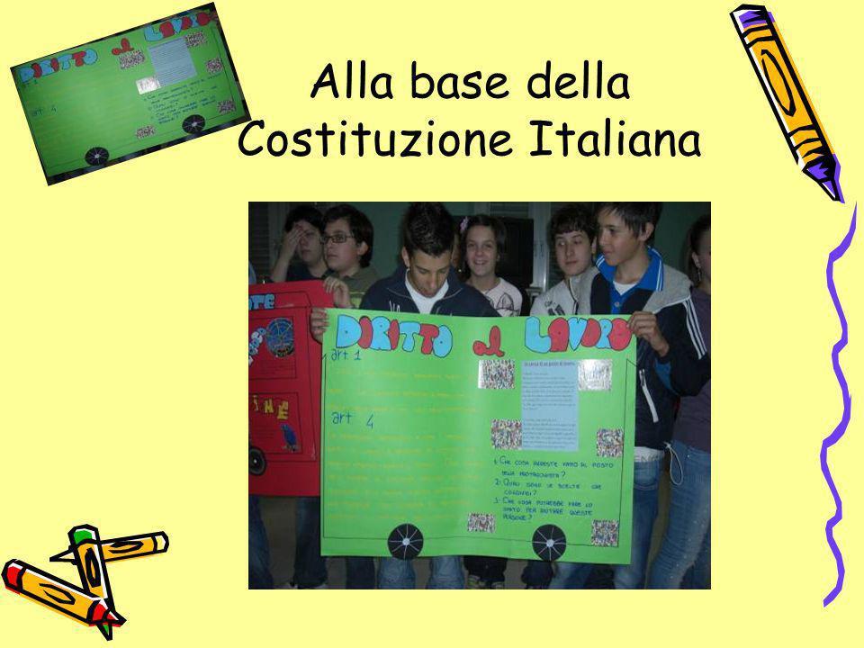 Alla base della Costituzione Italiana