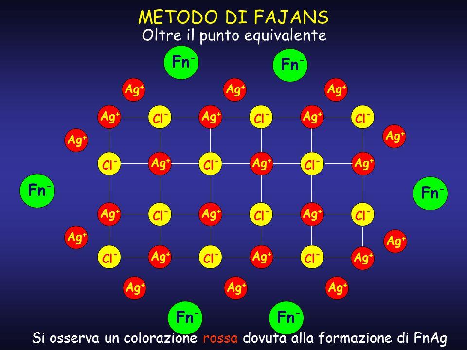 Si osserva un colorazione rossa dovuta alla formazione di FnAg
