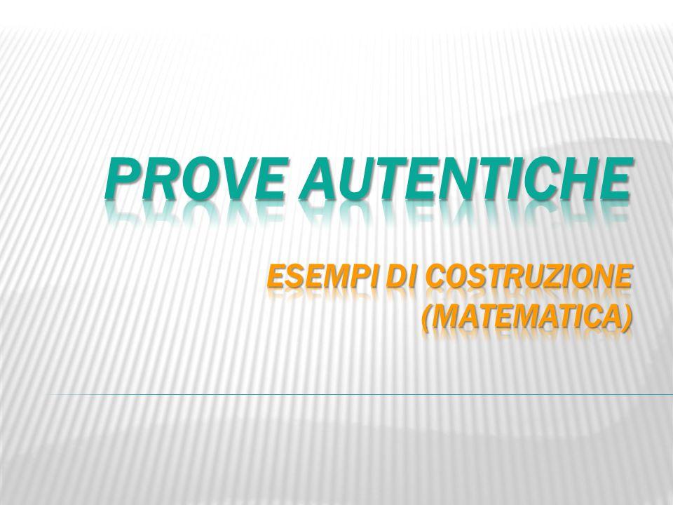 Prove autentiche esempi di COSTRUZIONE (matematica)