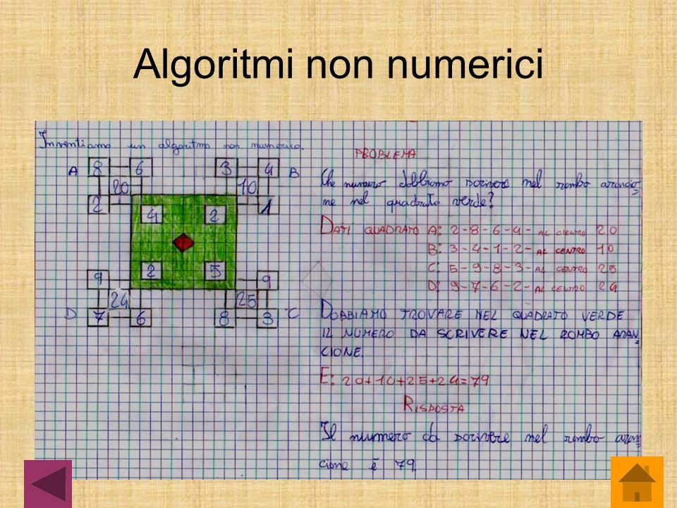 Algoritmi non numerici