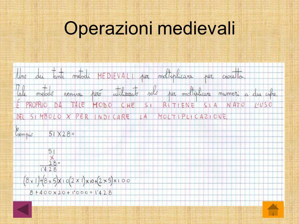 Operazioni medievali