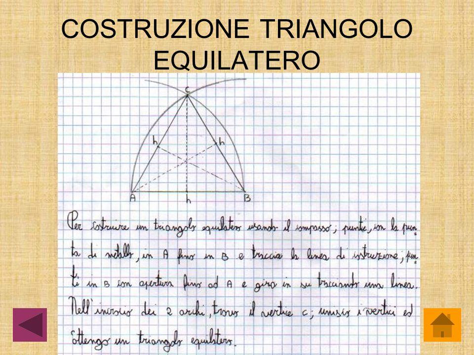 COSTRUZIONE TRIANGOLO EQUILATERO