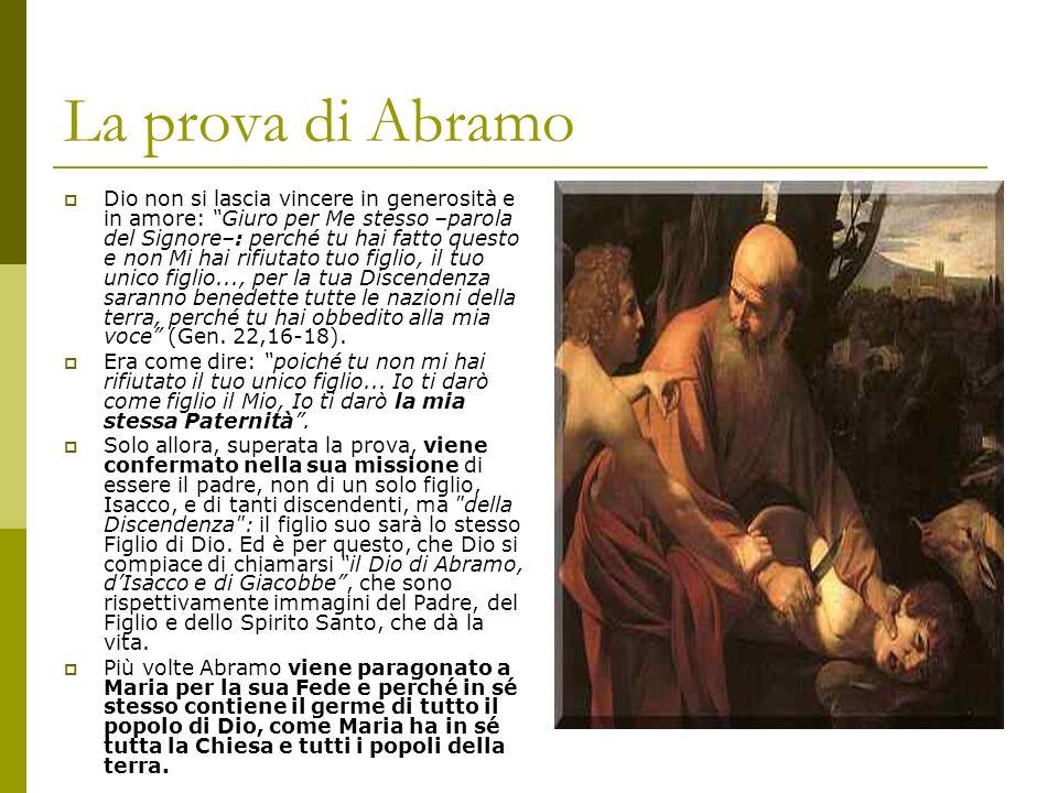La prova di Abramo