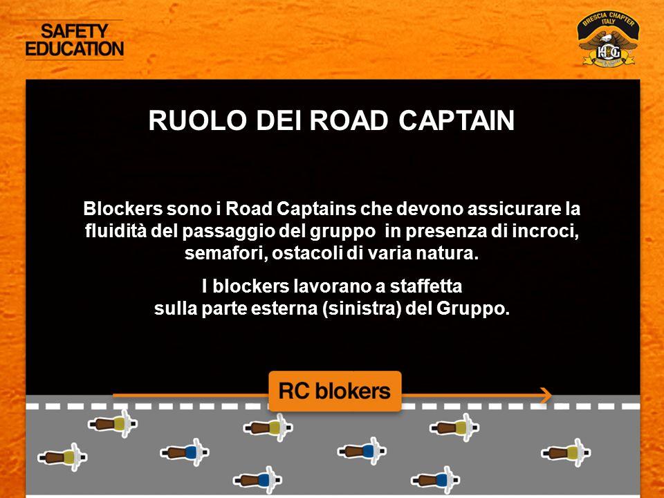 RUOLO DEI ROAD CAPTAIN