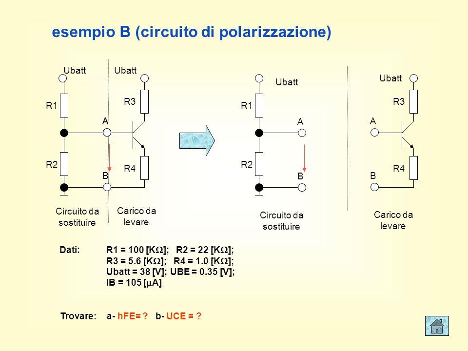 esempio B (circuito di polarizzazione)