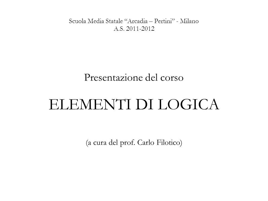 Scuola Media Statale Arcadia – Pertini - Milano A.S. 2011-2012