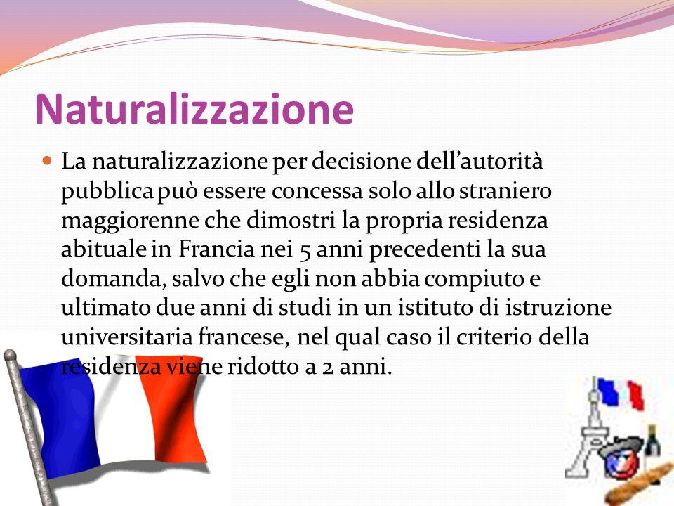 Naturalizzazione
