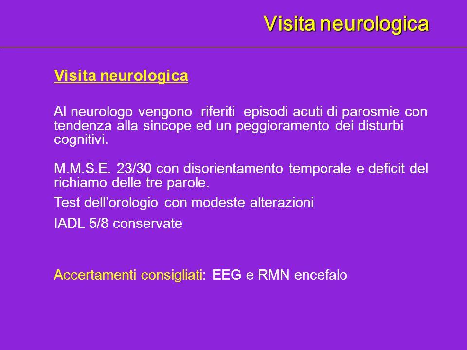 Visita neurologica Visita neurologica