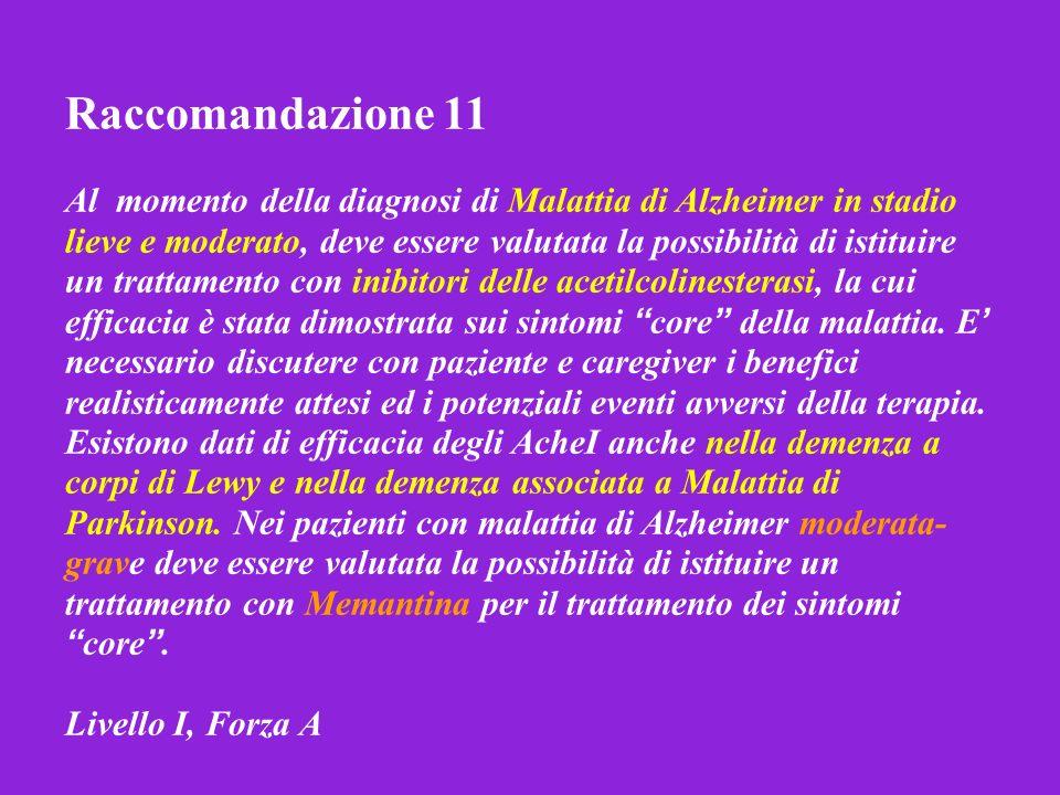 Raccomandazione 11