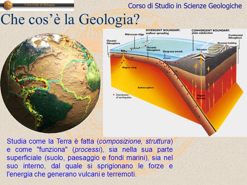 Che cos'è la Geologia