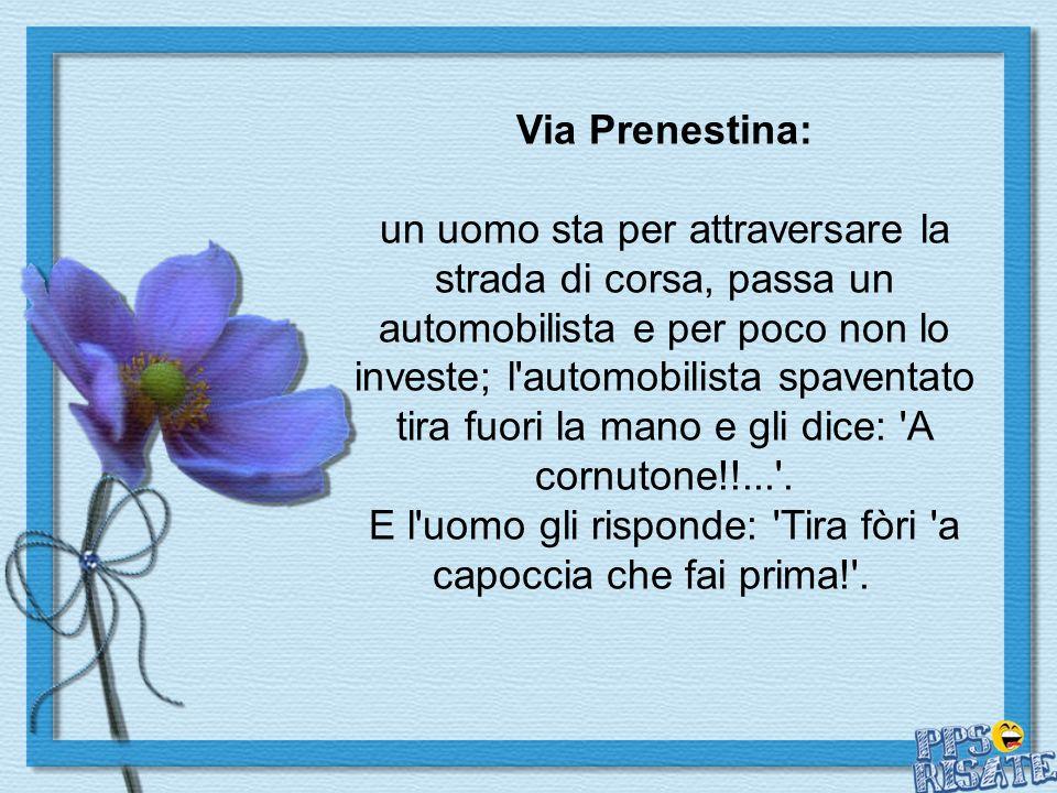 Via Prenestina: