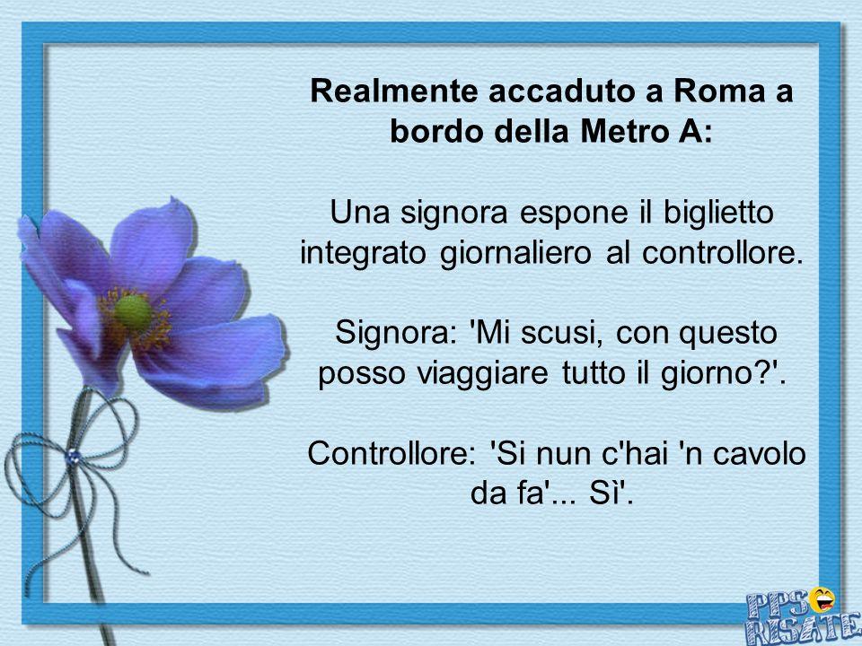 Realmente accaduto a Roma a bordo della Metro A: